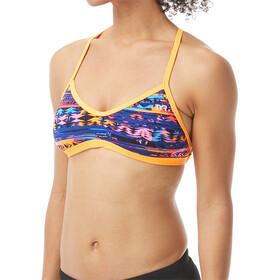 TYR Kiowa Haut de maillot de bain à nouer Femme, orange/multi